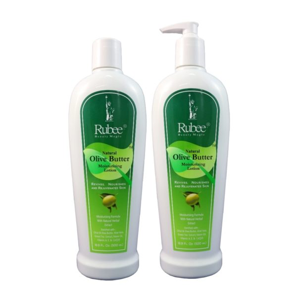 Rubee Olive Butter Moisturizer 2 type