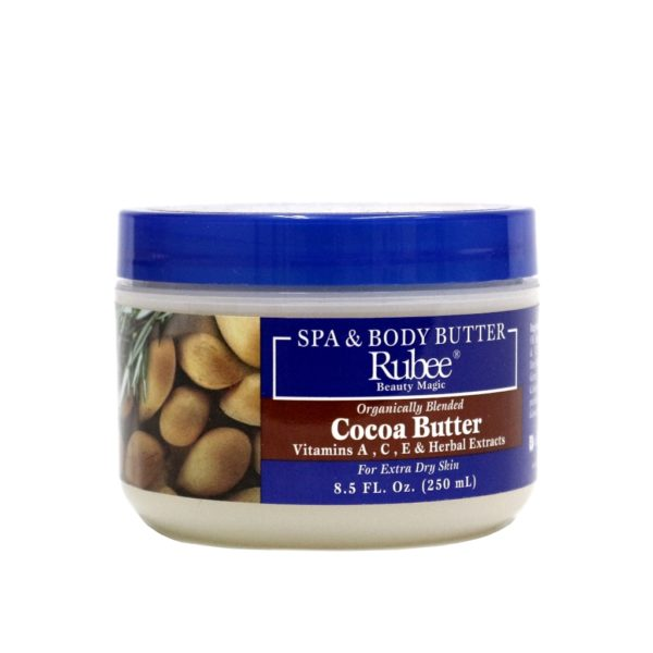 Rubee Spa & Body Butter Cocoa Butter 8.5oz